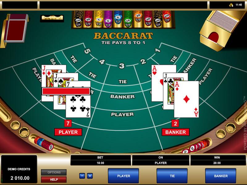 Baccarat Online: die Anleitung für dieses Kartenspiel und nützliche Tipps